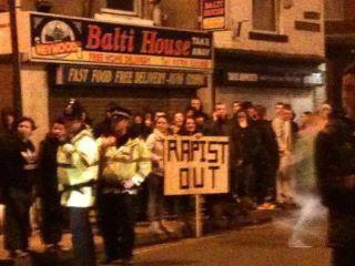 Rochdale protest