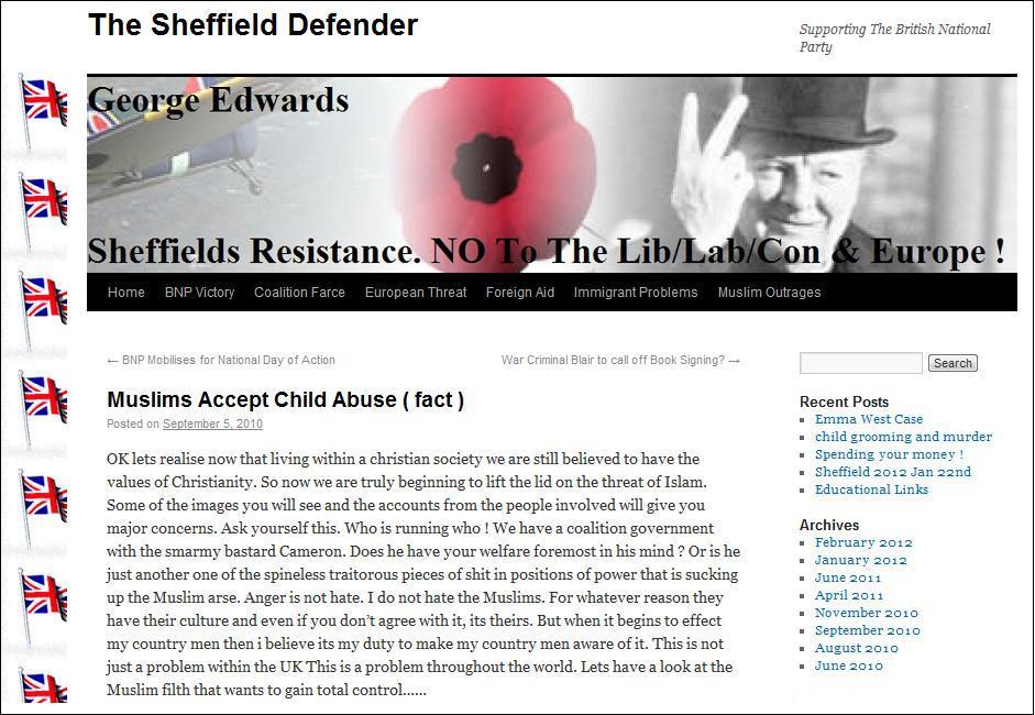 George Edwards The Sheffield Defender