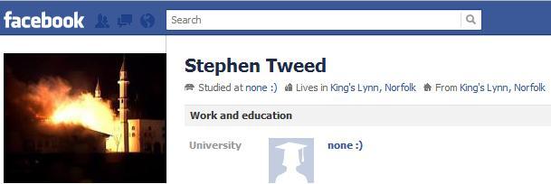 Stephen Tweed Facebook
