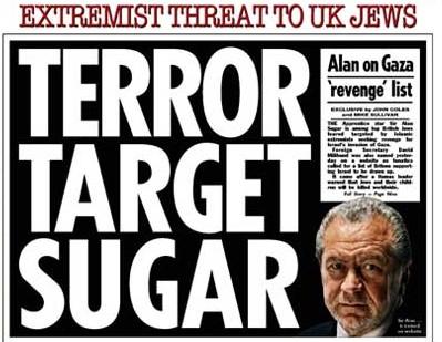 Terror Target Sugar