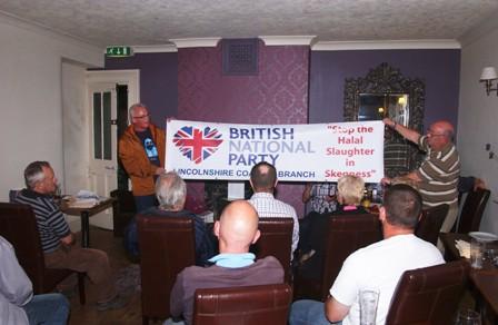 BNP Skegness anti-halal campaign