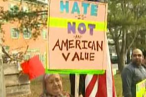 CAIR anti-Geller protest