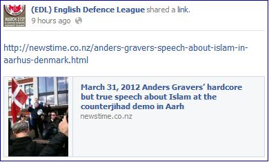 EDL Gravers Aarhus speech