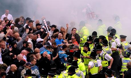 EDL in Bradford