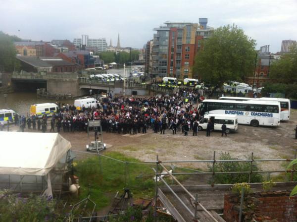 EDL in Bristol (2)