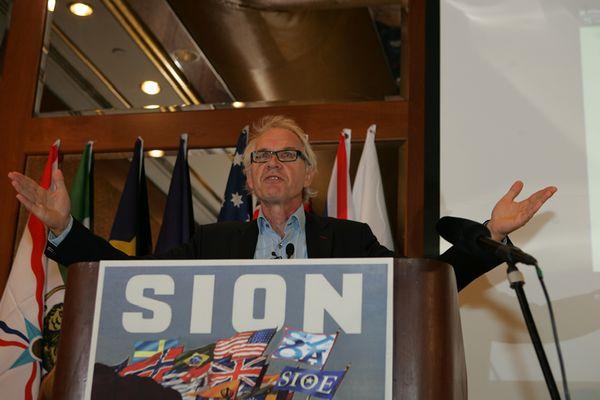 Lars Vilks at SION conference