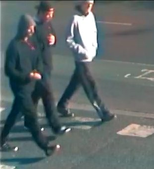 Leicester hijab assault suspects