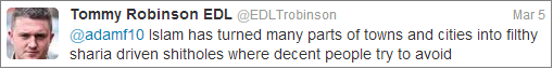 Lennon Islam tweet