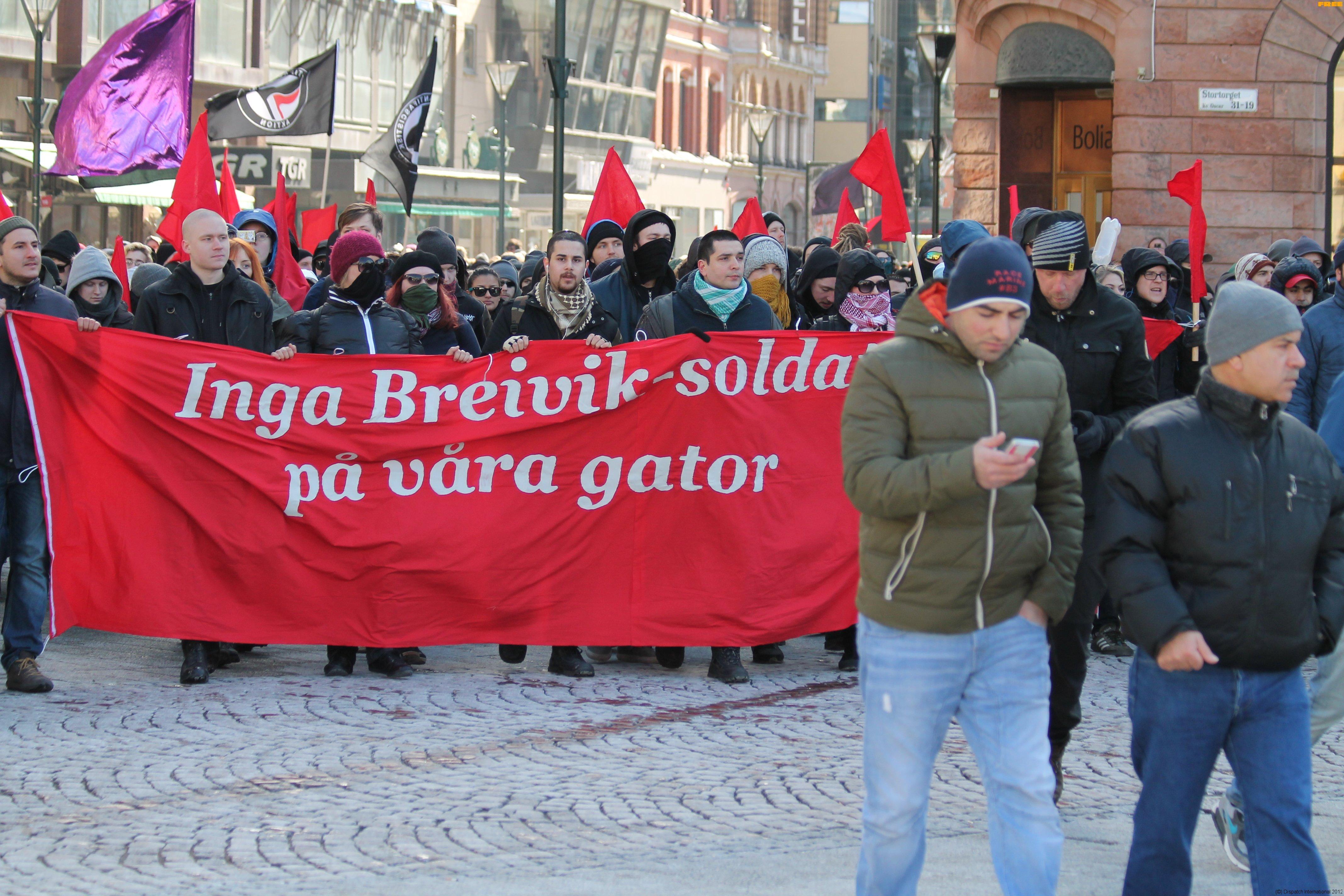 Malmö anti-SDL protest