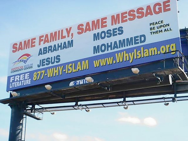 Islamic billboards appearing throughtout Orlando area