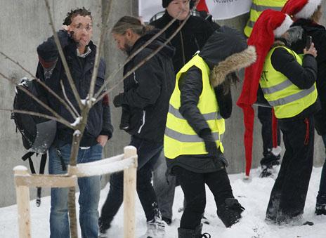 Oslo bomb threat suspect