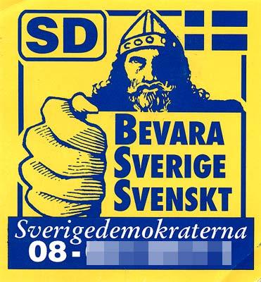 SD Keep Sweden Swedish