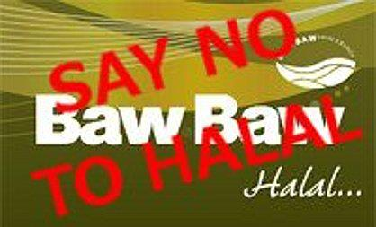 Baw Baw Says NO to Halal