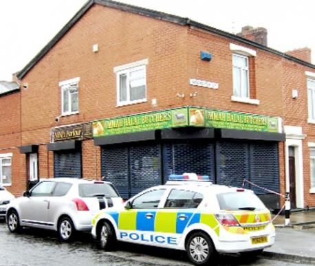 Blackburn halal butchers arson attack