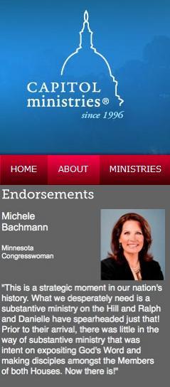 Capitol Minstries Bachmann
