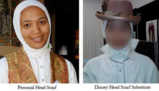 Disney substitute hijab