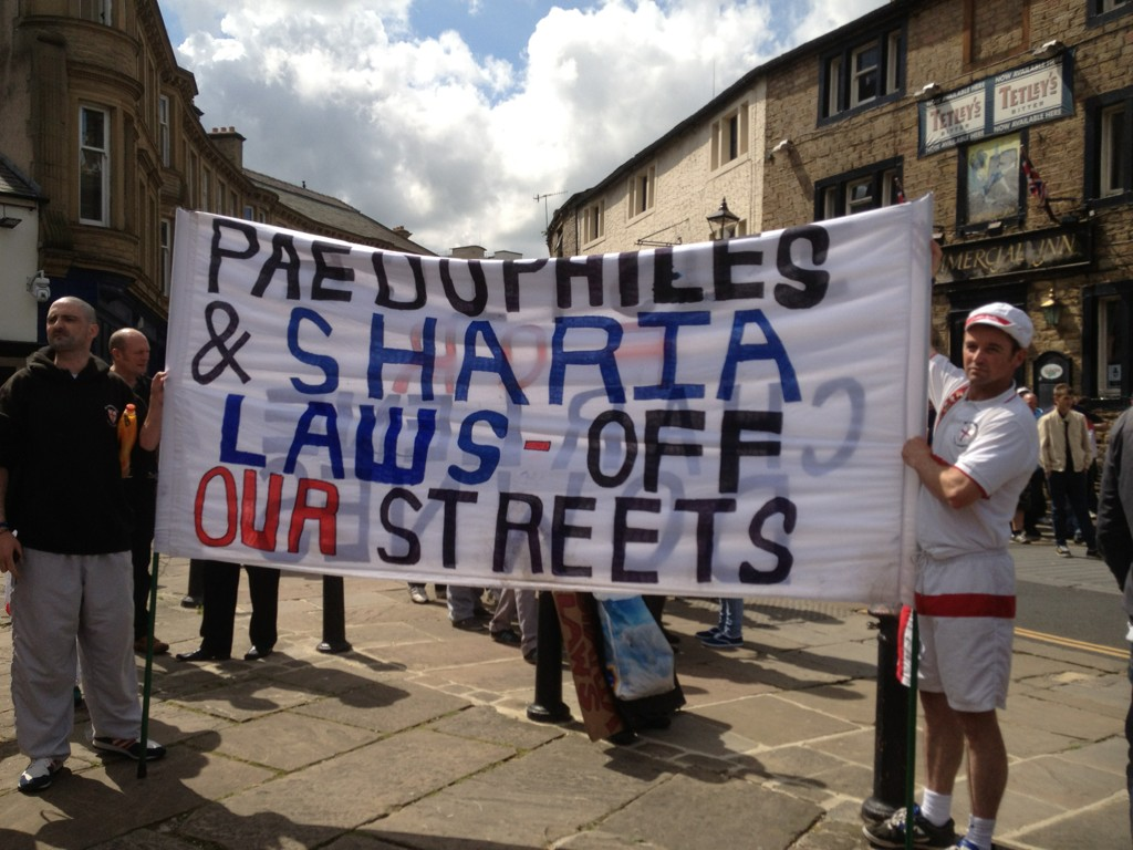 EDL Keighley Banner