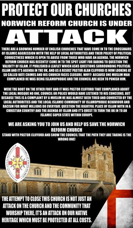 EDL Norwich demo ad (1)