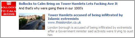 EDL Tower Hamlets Jim Fitzpatrick