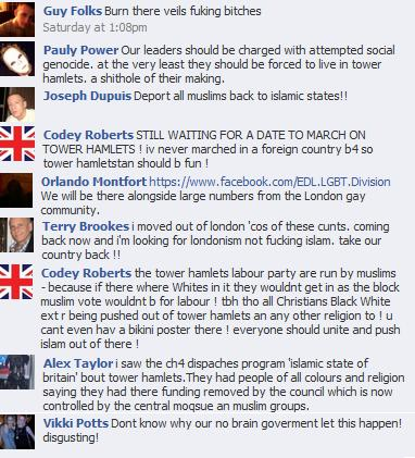 EDL comments on Graeme Archer article