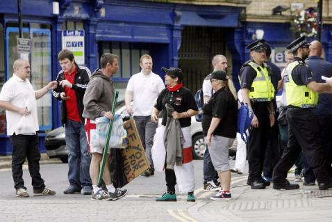 EDL in Keighley