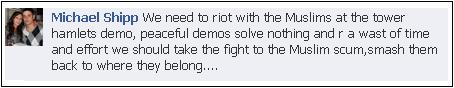 EDL threat to Tower Hamlets