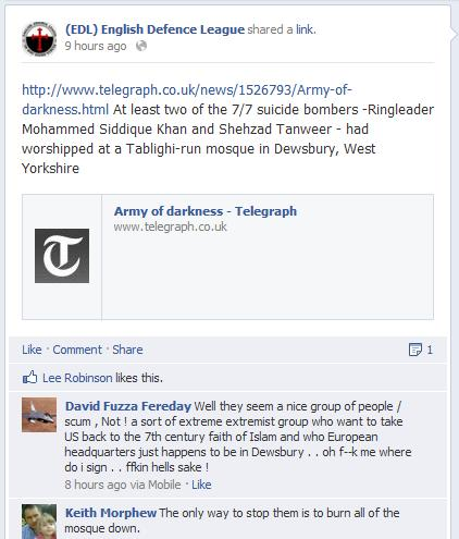 EDL why we are going to Dewsbury (2)