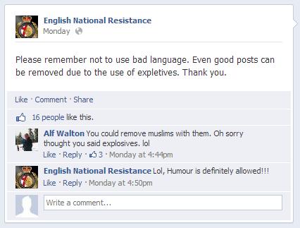 ENR 'humour'