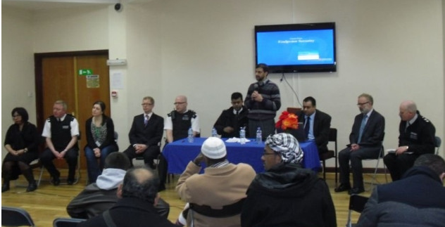 Finsbury Park Mosque hate crime meeting