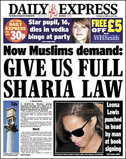 Give Us Full Sharia Law