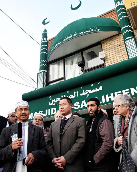 Masjid Al-Saaliheen interfaith event