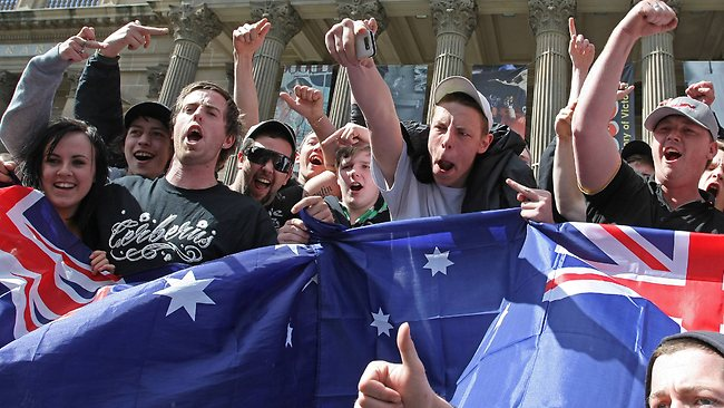 Melbourne anti-Islam rally