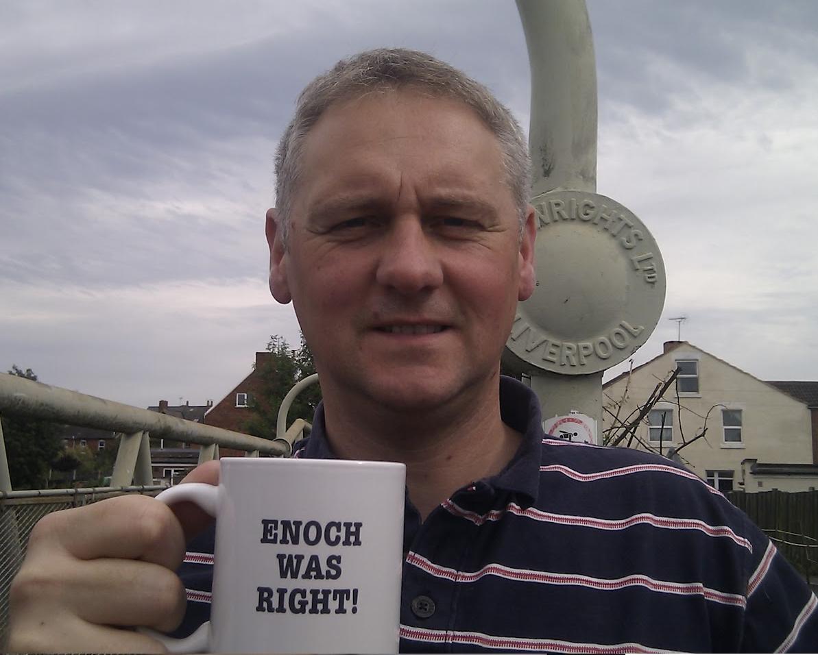 Michael Coleman Enoch Powell mug
