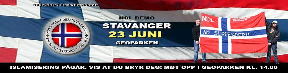 NDL Stavanger demo ad