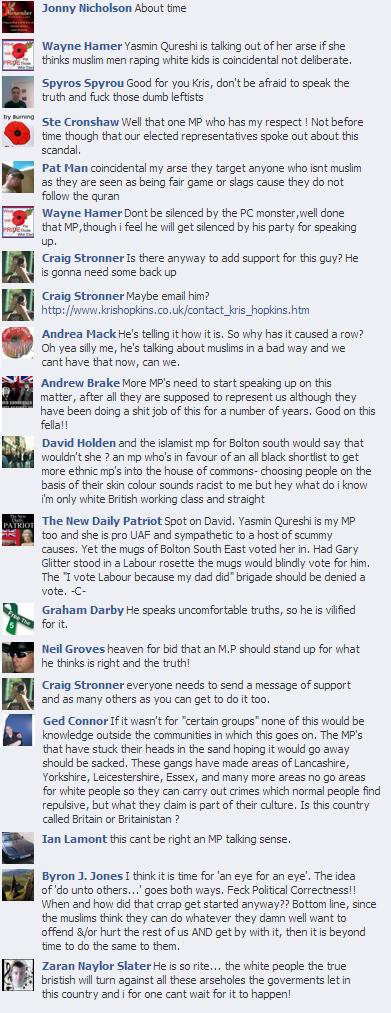 New Daily Patriot Kris Hopkins comments