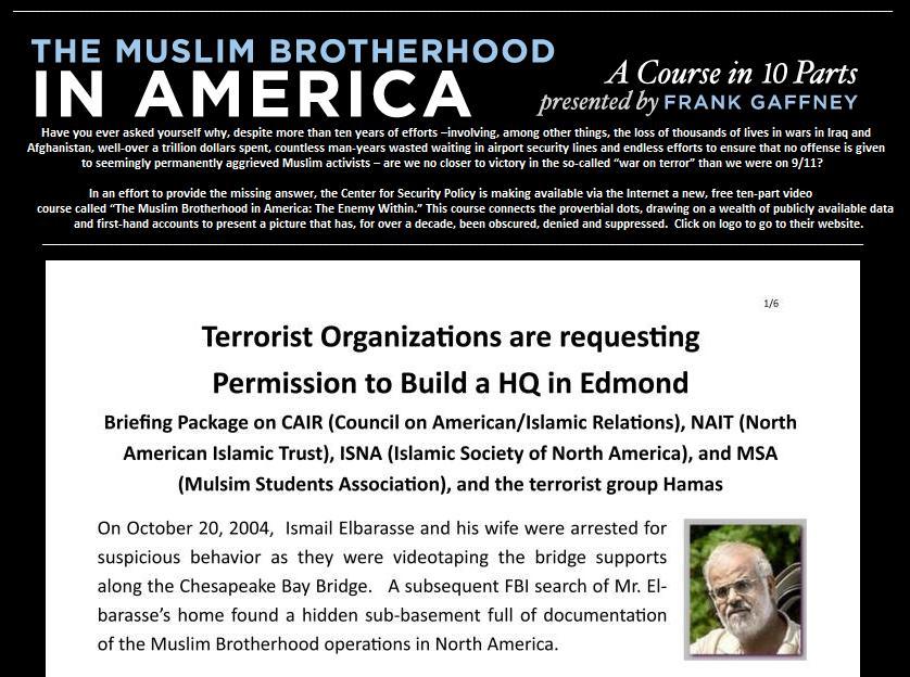 ORG anti-mosque campaign
