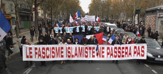 Résistance Républicaine Paris protest