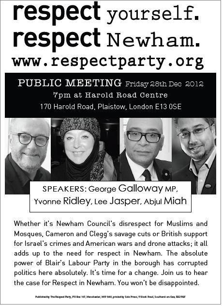 Respect Newham meeting