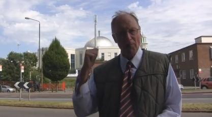 Richard Edmonds at Baitul Futuh Mosque