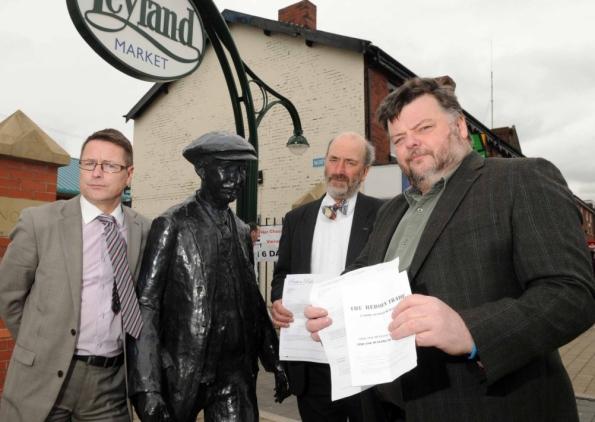 South Ribble councillors against BNP