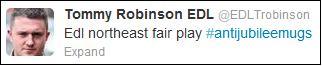 Stephen Lennon backs attack on anti-Jubilee party