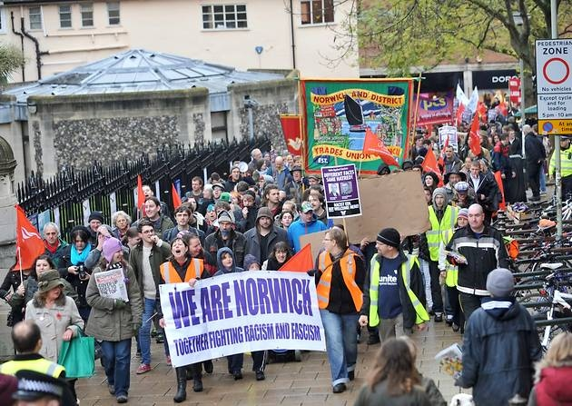 We Are Norwich demonstration