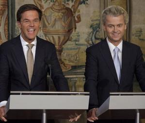 Wilders and Rutte2