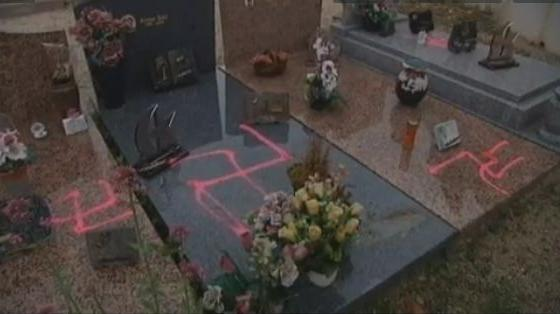 Carros cemetery desecration