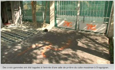 Draguignan mosque vandalism (2)