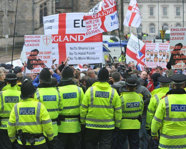 EDL Rochdale June 2012