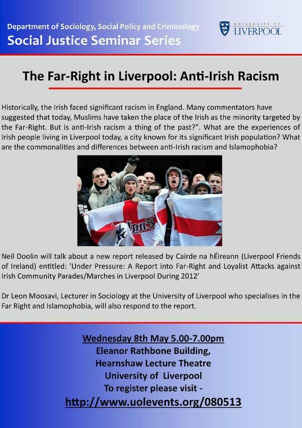 Far-right in Liverpool seminar