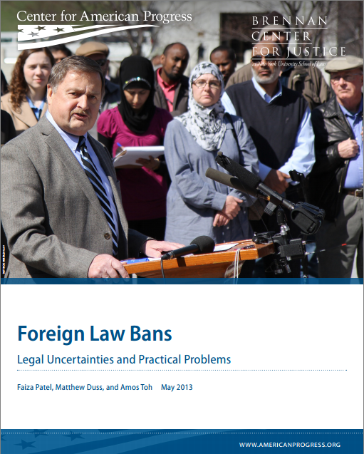 Foreign Law Bans