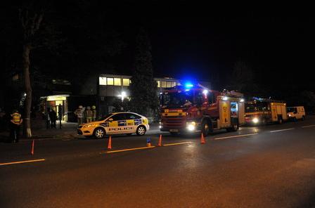 Grimsby mosque arson