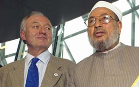 Ken with Qaradawi